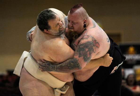 Kelly Gneiting: Luchador de sumo y la persona más gorda en terminar un maratón