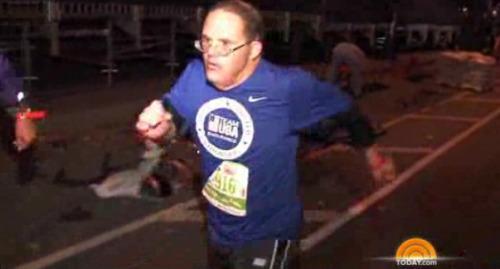 Jimmy Jenson: La primera persona con síndrome de Down en completar un maratón