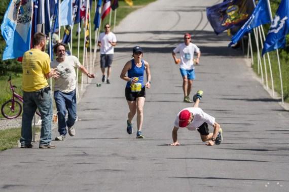 La impresionante caida de Michael Westphal: El primer maratoniano con Párkinson